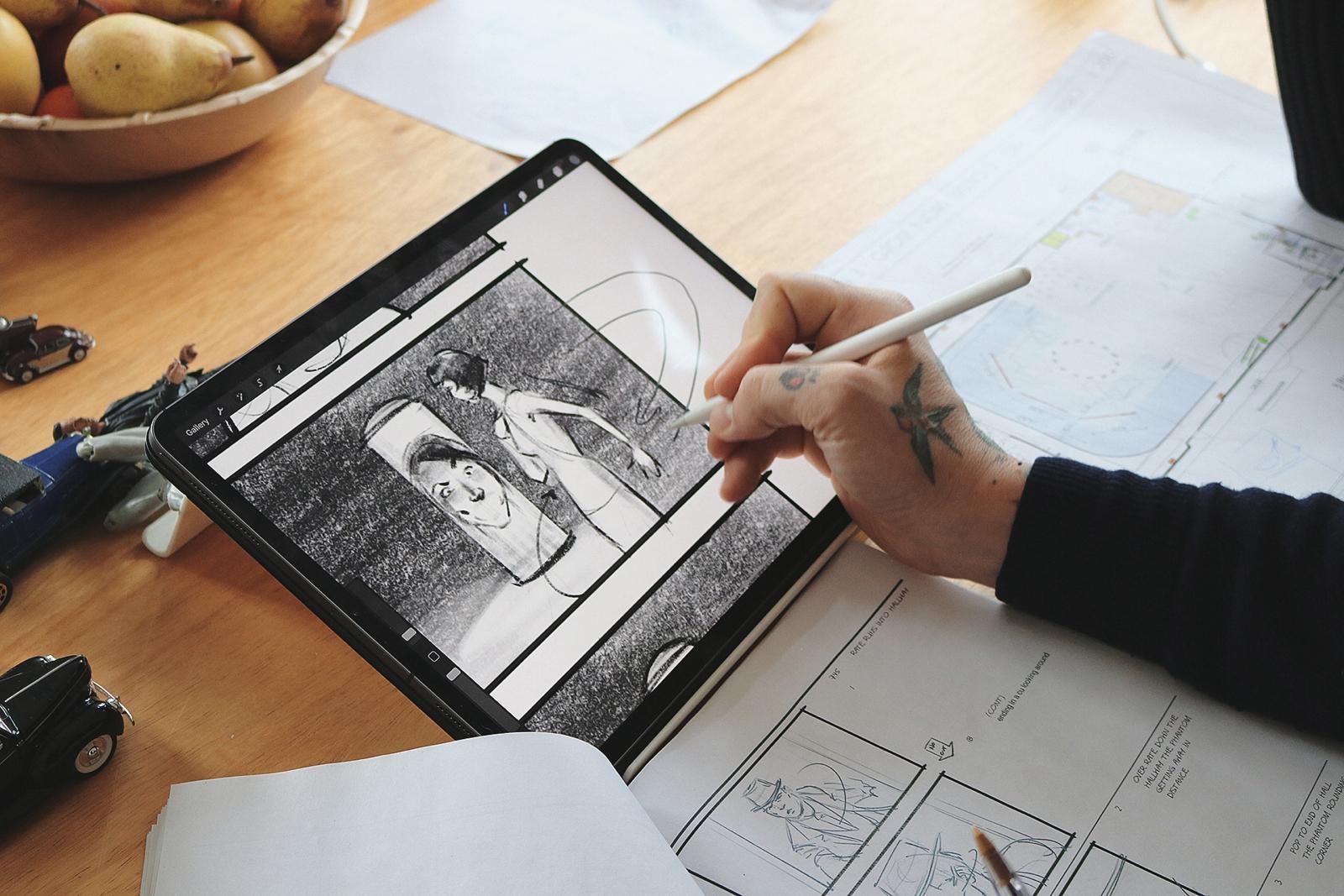 Kurt van der Basch iPad 03