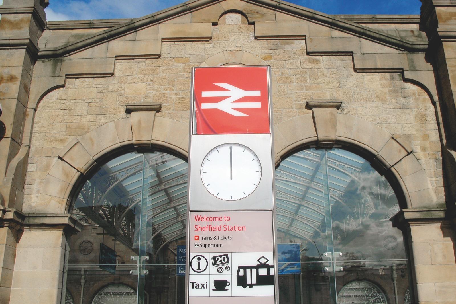 Sheffield Bahnhof