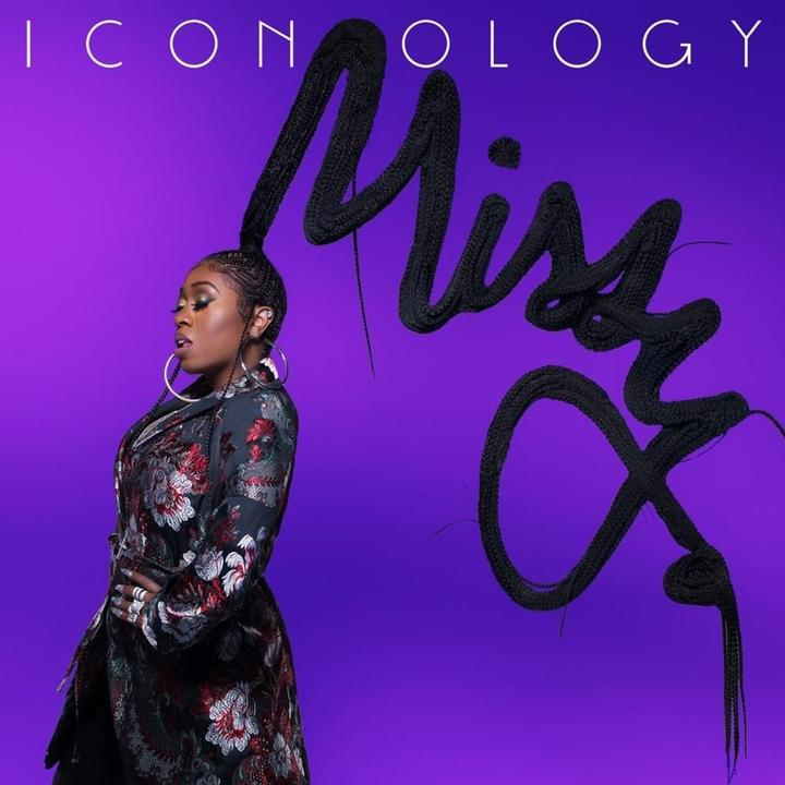 Missy Elliot Iconology Cover
