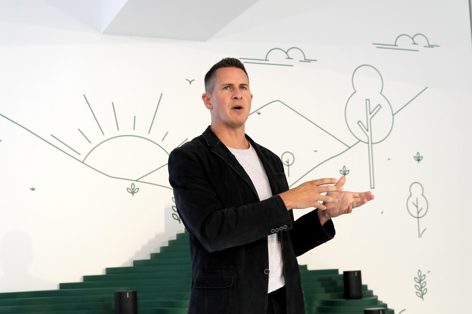 Sonos CEO Patrick Spence Berlin 2019