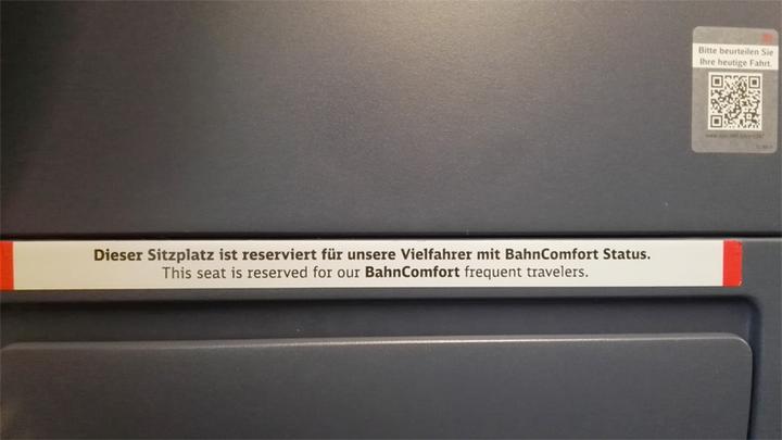 bahncomfort