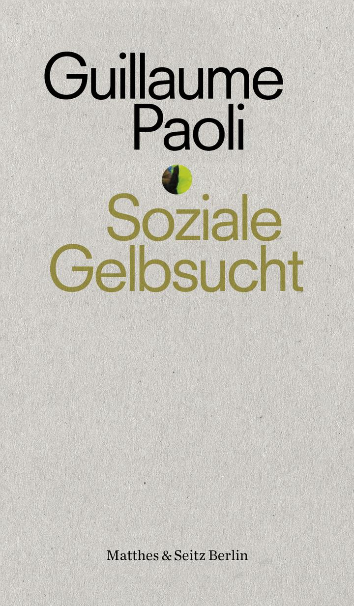 Pageturner Februar 2020 Guillaume Paoli - Soziale Gelbsucht Cover