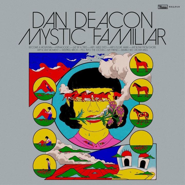 Dan Deacon Mystic Familiar Cover