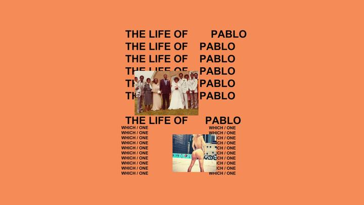 LL-The Life Of Pablo Artwork