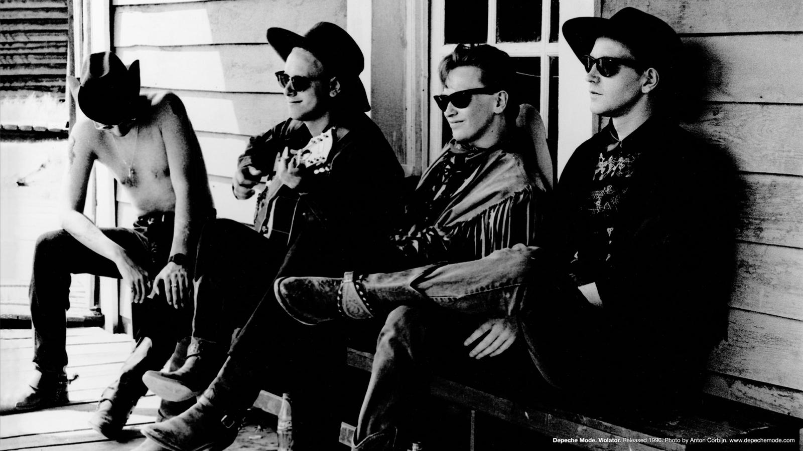 Depeche Mode Portrait 1990