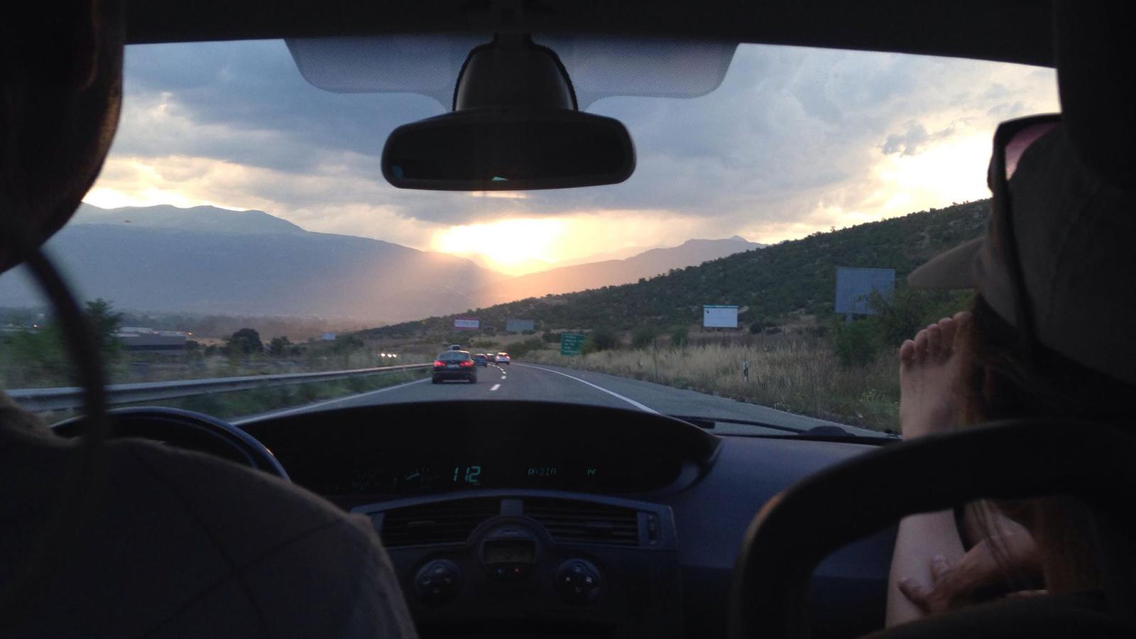 Autofahrt