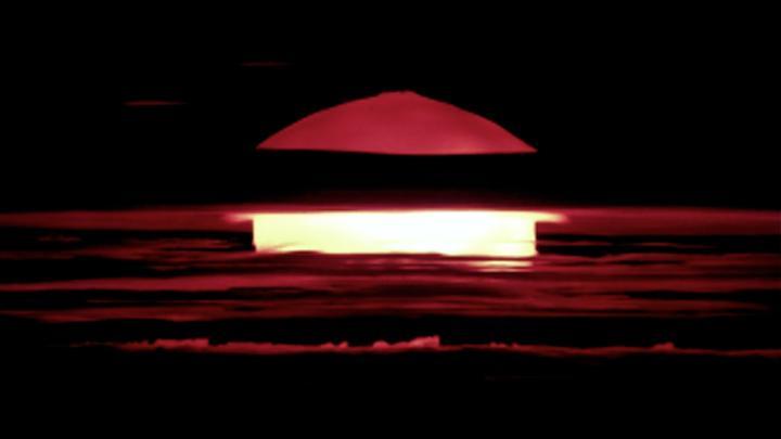 Atomare Explosion