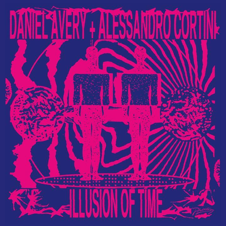 Daniel Avery. Alessandro Cortini Illusion Of Time Artwork
