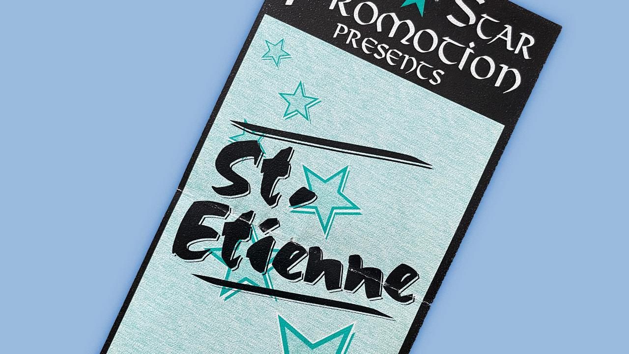 Konzerterinnerungen -  Saint Etienne Berlin 1994 Marquee