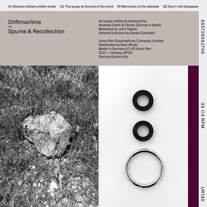 Driftmachine - Spume & Recollection - Artwork