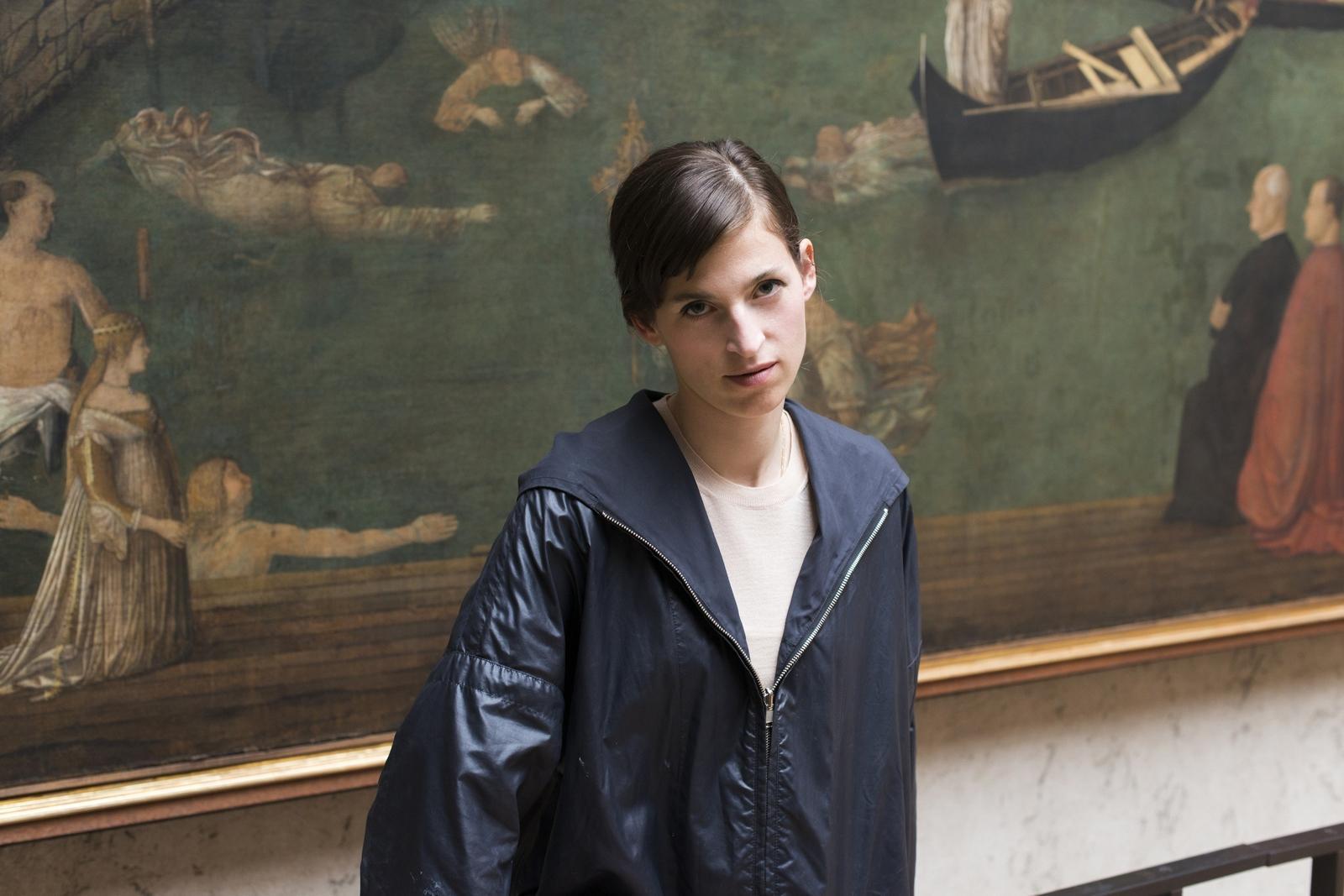 Die Künstlerin Pamela Rosenkranz