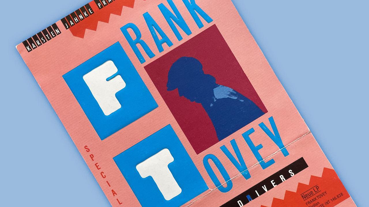 Konzerterinnerungen Frank Tovey Banner