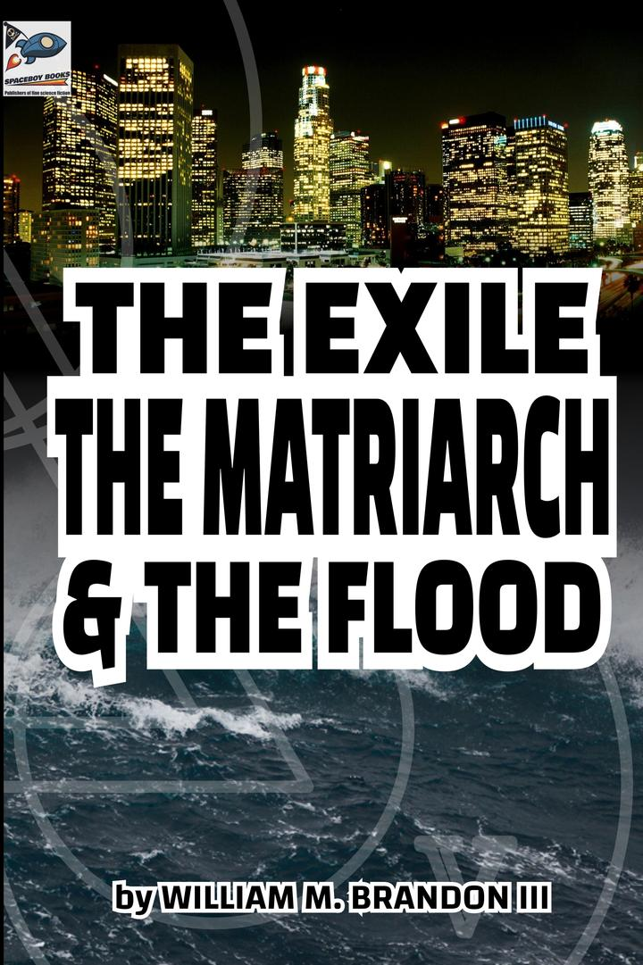 Pageturner August 2021 The Exile The Matriarch & The Flood Cover