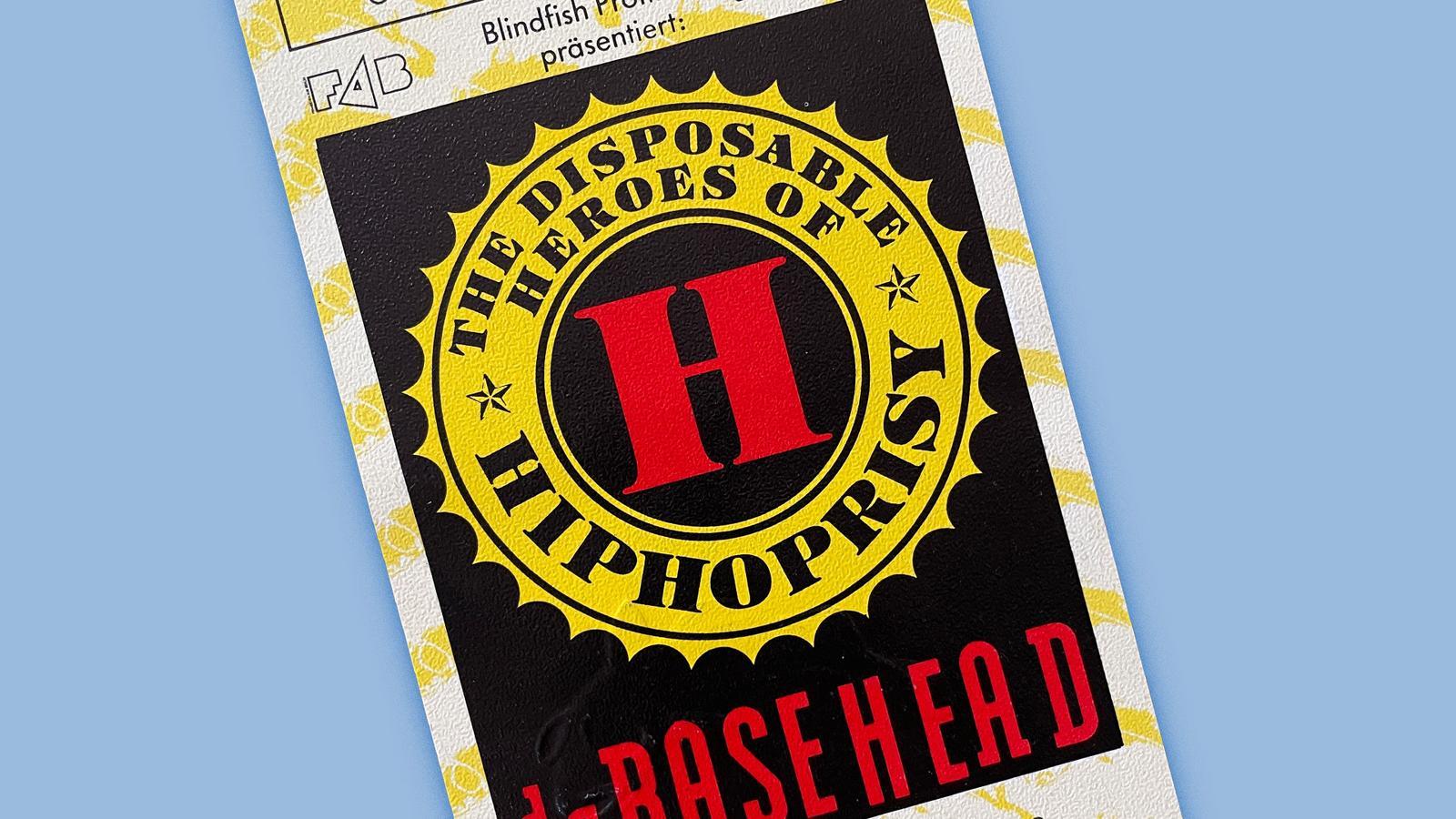 Konzerterinnerungen The DIsposable Heroes Of HipHoprisy Berlin