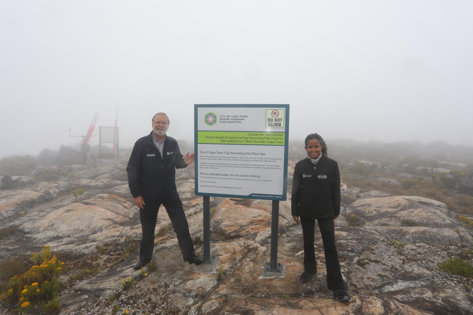 Water Works 10 – Fog Harvesting am Tafelberg in Südafrika